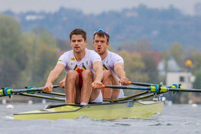 """Ruben Claeys (vooraan) en Pierre De Loof (achteraan): """"We waren nooit competitief."""""""