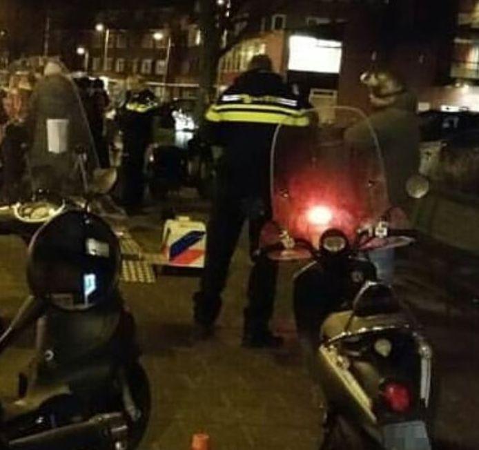 verkeerscontrole in Utrecht centrum