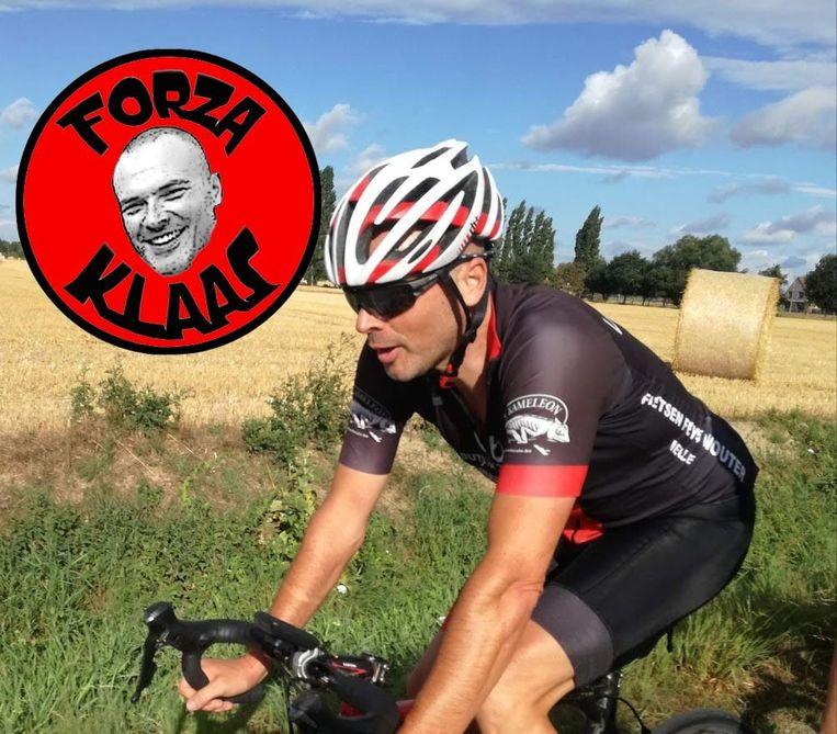 Klaas Vandommele liep een ernstig hersenletsel op tijdens een fietstocht.