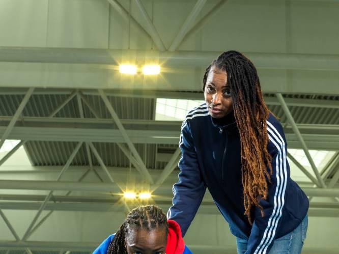 """Carole Bam, Mama Cheetah van de 4x400m aflossingsploeg: """"Als vrouw, en zeker als zwarte vrouw, moet ik mezelf elke dag weer bewijzen"""""""
