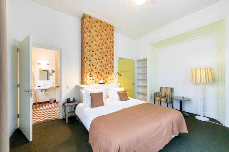 Moderne kamer met historische details: een verblijf in hotel Bitter en Zoet is geen straf. Beeld Sander Groen