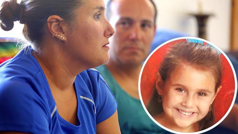 Becky en Sergio Celis spraken in 2014 nog over de verdwijning van hun dochter Isabel.