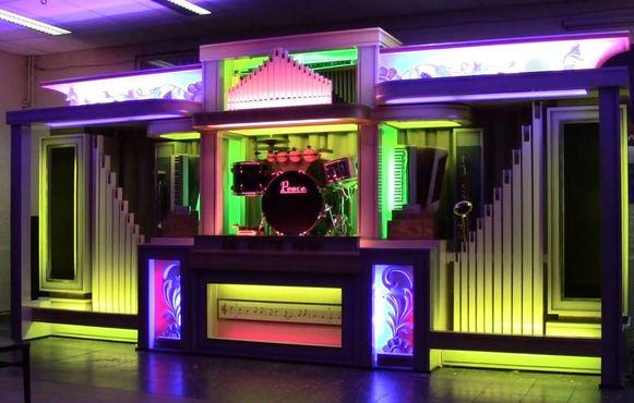 Een DECAP-orgel.