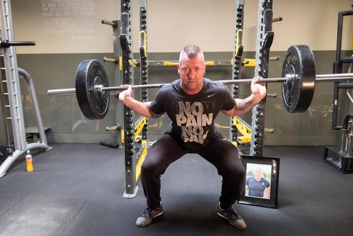 Powerlifter Rinaldo Visser wil eindelijk die EK-titel, wereldtitels heeft hij genoeg.
