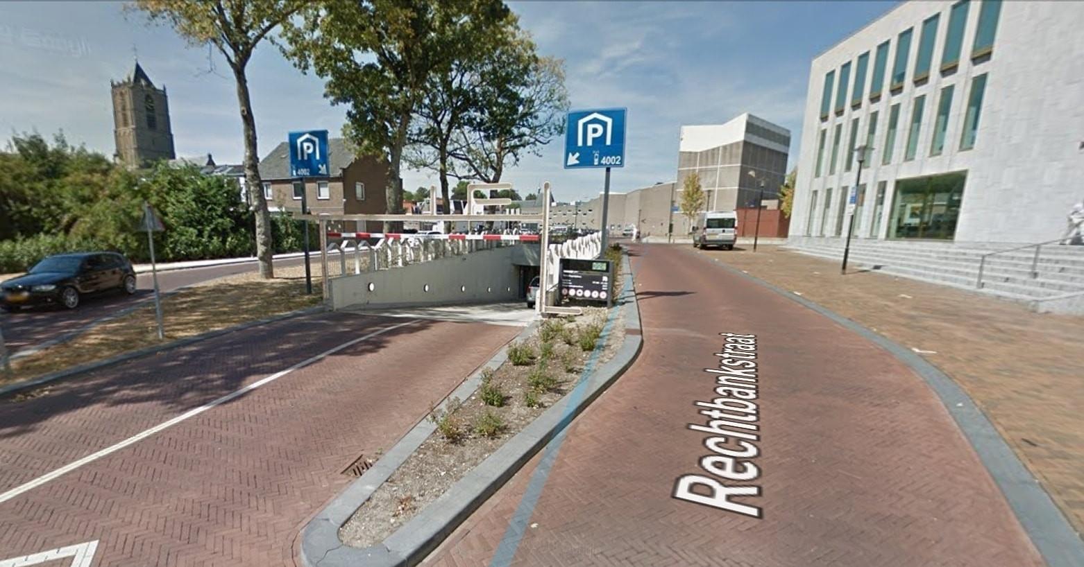 De parkeergarage bij de Zinder in Tiel.