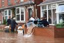 Overstromingen vorig jaar, in het westen van Engeland.