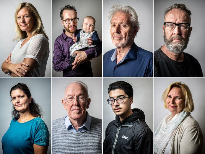 Ex-patiënten vertellen het verhaal over hun vaak moeizame herstel.