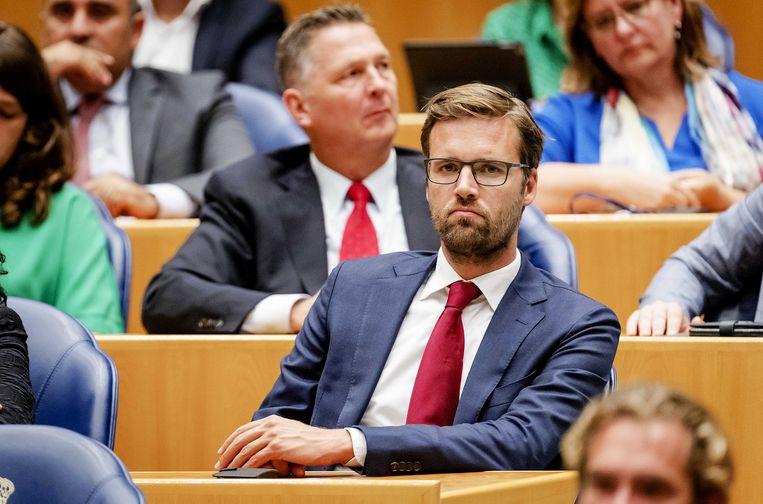 Tweede Kamerlid Sjoerd Sjoerdsma (D66)  Beeld ANP