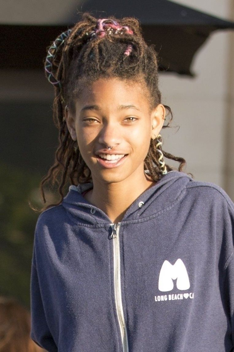 Geen blijvend trauma: Willow Smith in april 2018 in Calabasas.