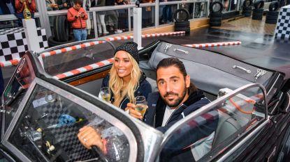 IN BEELD. Dimitri Vegas en Anouk Matton cruisen in exclusieve BMW-oldtimer