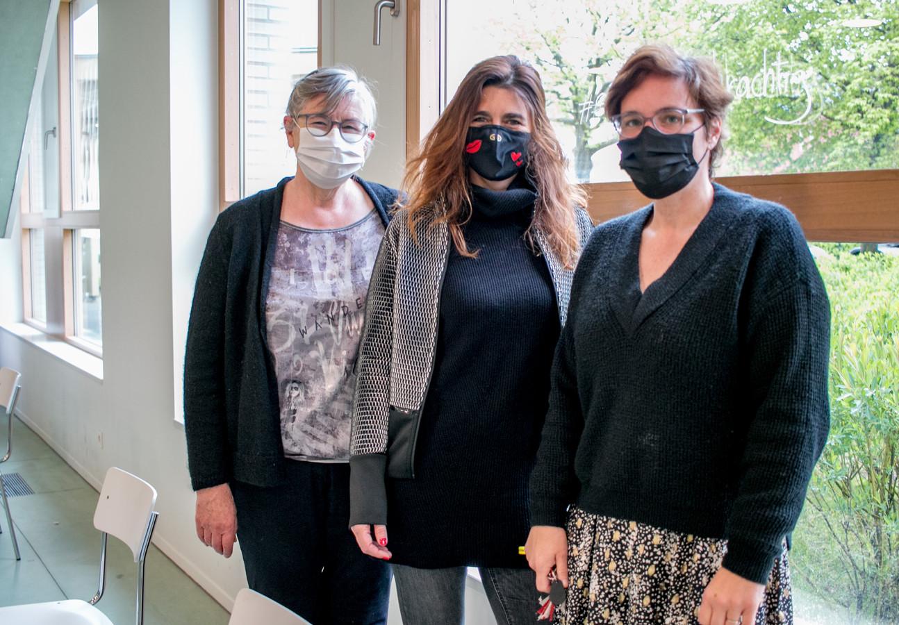 """Liliane Verbeke, Vanessa Blommaert en Sofie Heyrman: """"Geld mag geen drempel zijn voor psychische hulp."""""""
