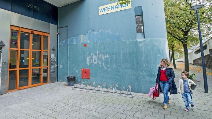 De ingang van de Europort Business School