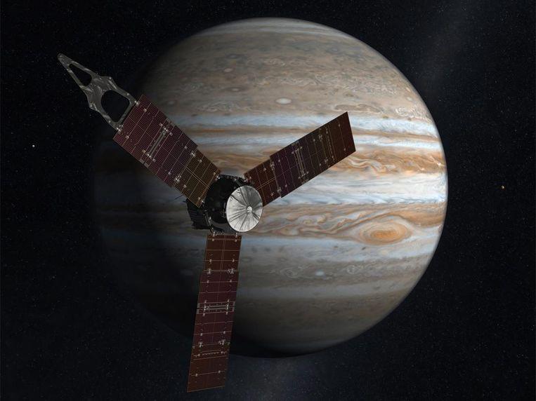 Jupiter en Juno. Beeld EPA