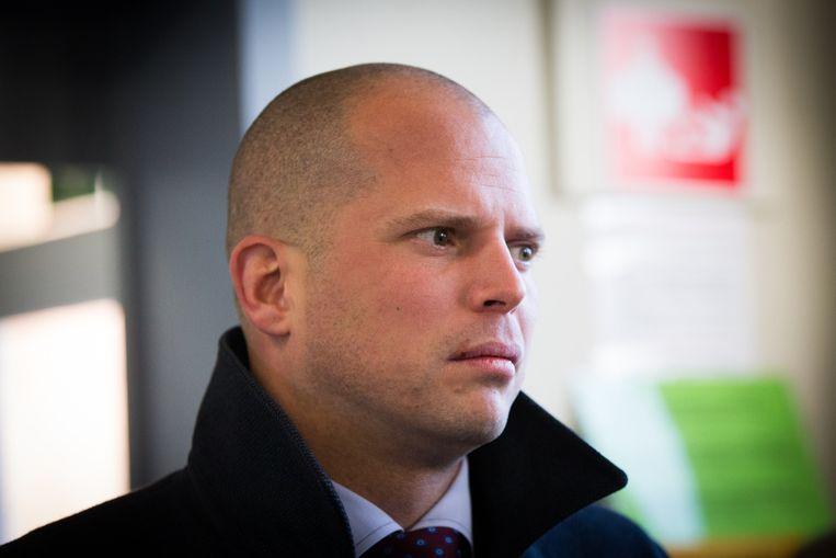 Staatssecretaris voor Asiel en Migratie Theo Francken (N-VA). Beeld belga