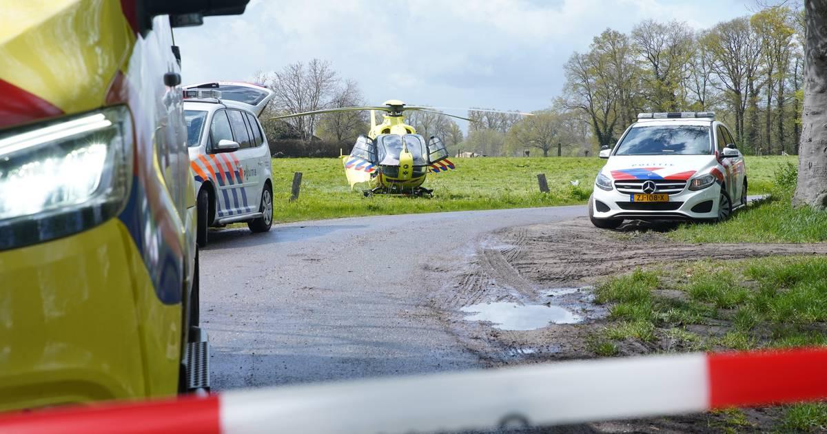 Ongeval met paard op Schoolboslaantje in Empe.