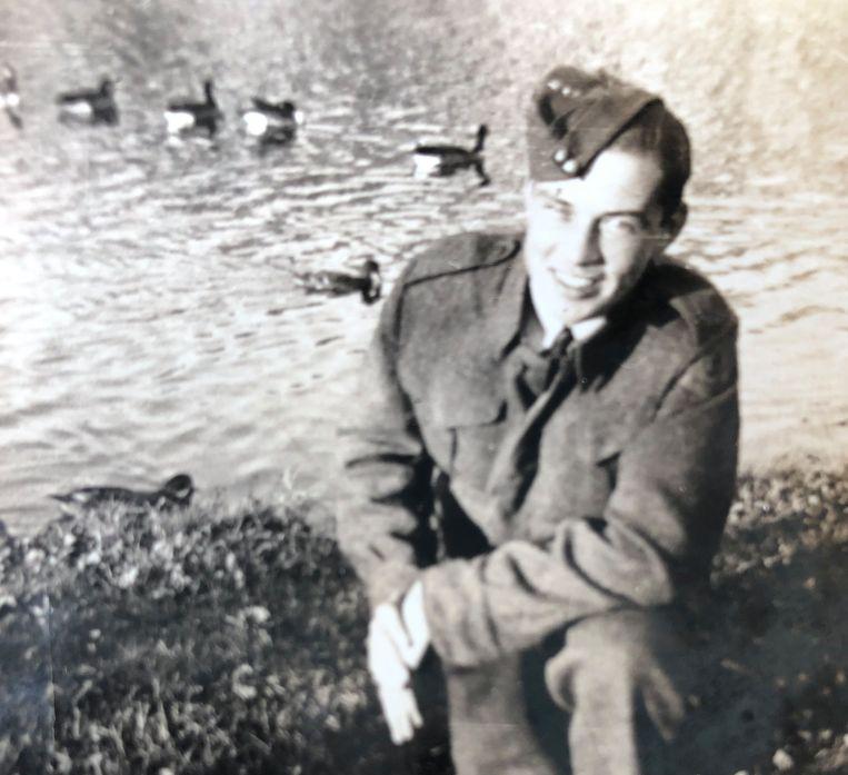 Bram Grisnigt in 1942 Beeld