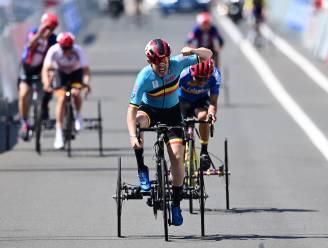 G-wielrenner Tim Celen schenkt België eerste gouden medaille op WK para-cycling