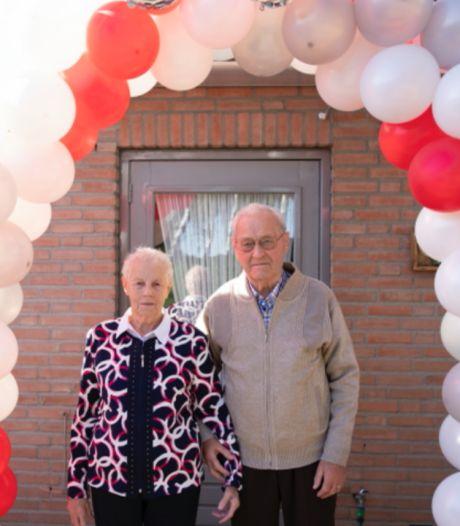 Echtpaar Damen-van Lent viert diamanten jubileum: 'Meteen raak op de kermis'