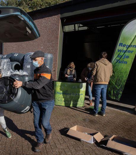 Regentonactie in drie Zeeuws-Vlaamse gemeenten