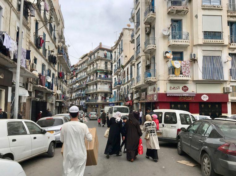 Bab El-Oued islamisten  Beeld Alex Tieleman