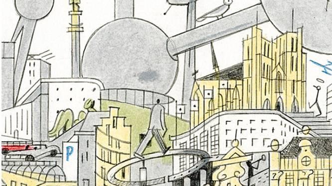 Brussel in meer dan 100 tijdschriftcovers: illustratoren brengen hulde aan hoofdstad en The New Yorker