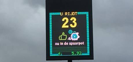 Goed rijgedrag is beloond: Waalwijkse school krijgt opbrengst van snelheidsmeter