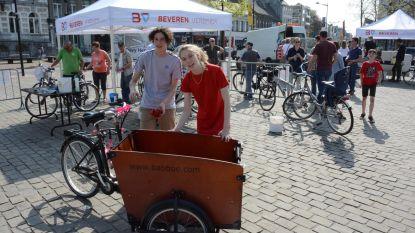Bikewash als aftrap van actie Met Belgerinkel