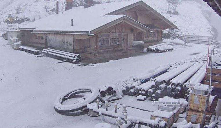 Engelberg in Zwitserland: ook daar een laagje sneeuw.