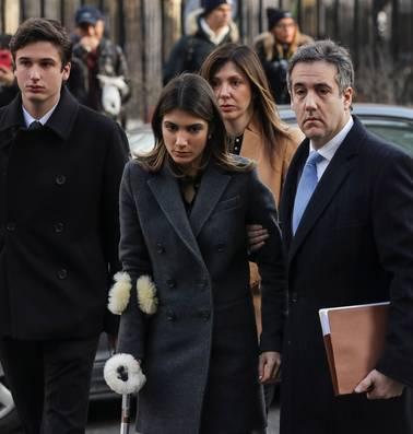 Trump in het nauw na vonnis Cohen