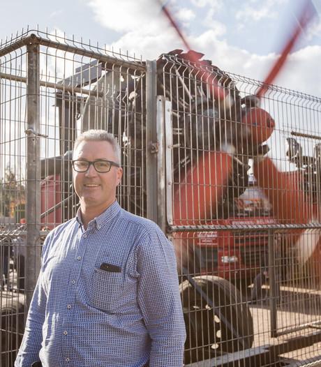 Bomenrooier Weijtmans krijgt oude Antonov vliegtuigmotor weer aan de praat