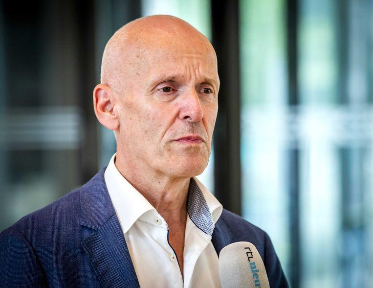 """CNV-voorzitter Piet Fortuin: """"Alleen maar zeggen 'het komt goed' is niet genoeg."""" Beeld ANP"""