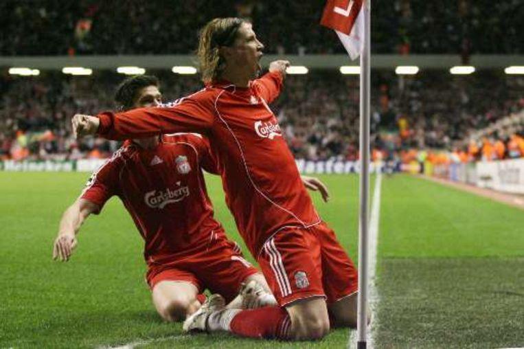 Torres bracht de Reds zelfs een eerste keer op voorsprong. Beeld UNKNOWN