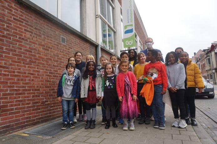 Archiefbeeld GO! Atheneum basisschool Denderleeuw.