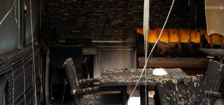 Brand Haagsche Beek aangestoken, brandstichter staat op camera