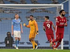 Un assist et... un penalty manqué pour De Bruyne, City et Liverpool se neutralisent