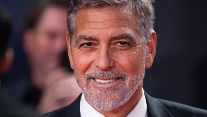 """George Clooney wil absoluut geen president worden: """"Maar ik hoop dat ze Trump niet terugsturen naar het Witte Huis"""""""