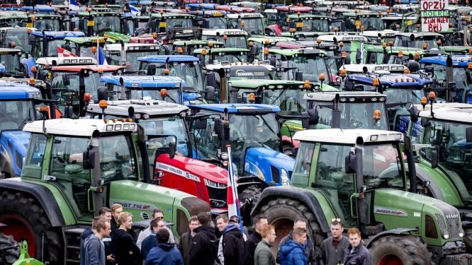 Boeren blazen massaal protest in Den Haag af
