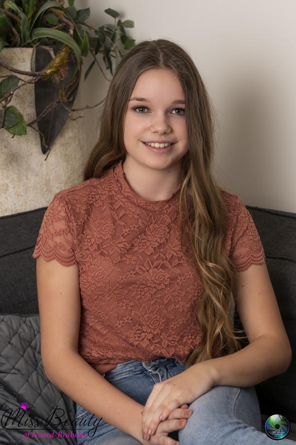 Miss Teen of Noord-Brabant: Fleur Smulders uit Etten-Leur dingt mee.