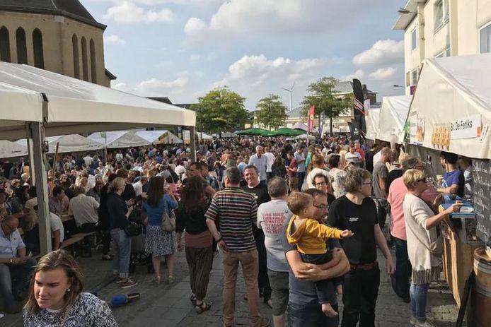 archiefbeeld van het streekbierenfestival in 2019