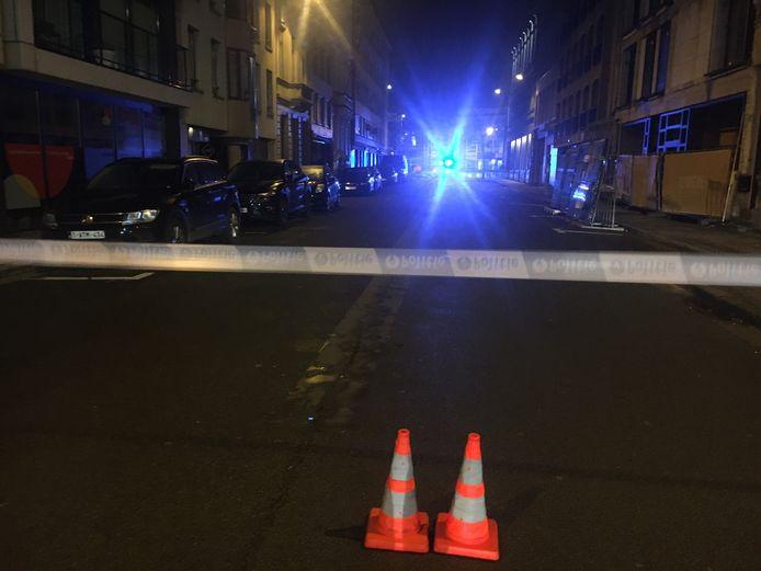 De omgeving van het station in Kortrijk werd twee uur lang hermetisch afgesloten door een bommelding.
