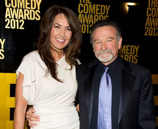Robin en Susan in 2012.