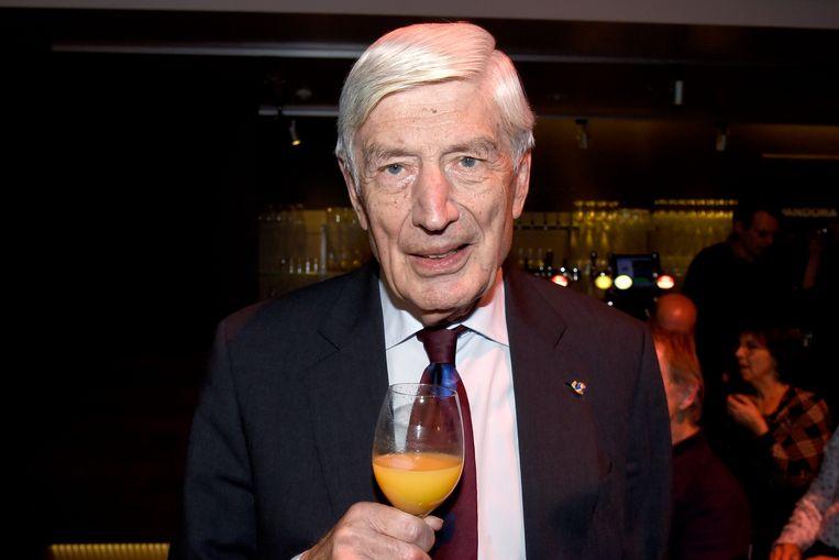 Oud-premier voor het CDA Dries van Agt eind vorig jaar. Beeld Brunopress