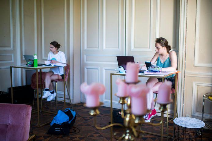 Edegemse studenten kunnen voortaan samen studeren in kasteel Hof ter Linden