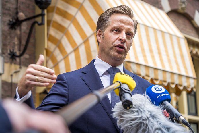 Demissionair minister Hugo de Jonge (CDA, Volksgezondheid, Welzijn en Sport).