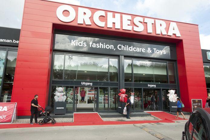 De grootste babywinkel heeft een verkoopsruimte van 5.100 vierkante meter.