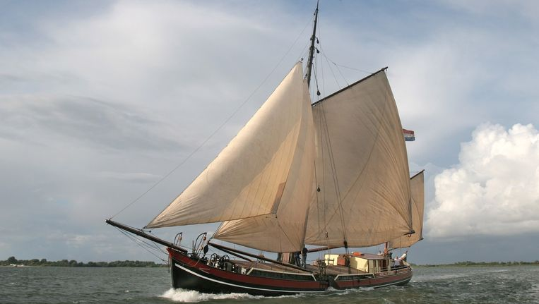 Zeilschip 'Helena', net als 'Antje' een stevenaak Beeld anp