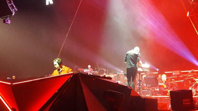 Hardwell tijdens zijn laatste show