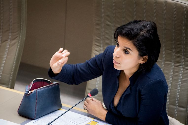 Nadia Sminate, voorzitter van de commissie Radicalisering in het parlement.