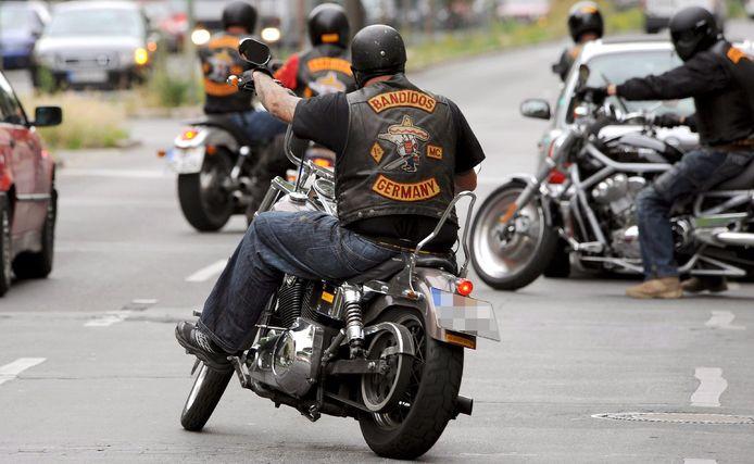 Bandidos-leden. Foto ter illustratie.