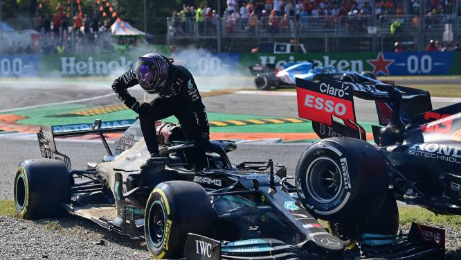Ricciardo wint op Monza, geen punten voor Verstappen en Hamilton na dramatische crash